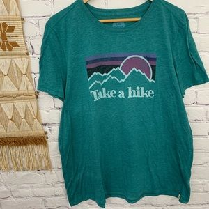 🌛Life is good🌛 take a hike graphic tee